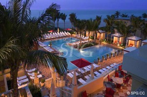 Acqualina located on Collins Avenue, Miami Beach