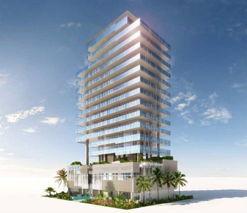 Glass Luxury Condo Building Is Set to Rise in Miami Beach